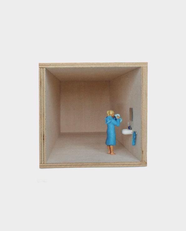 pude ko 12x12cm lagerbox pension f r produkte. Black Bedroom Furniture Sets. Home Design Ideas