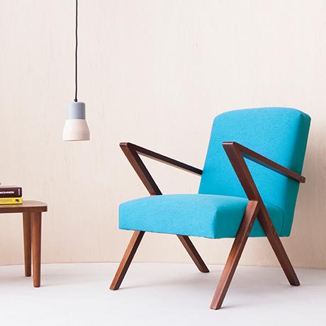 fotel retrostar turkusowy sternzeit design homeware outlet. Black Bedroom Furniture Sets. Home Design Ideas