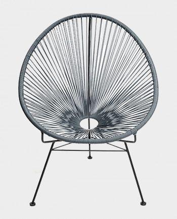 Fotel-Acapulco-Szary-Sternzeit-Design