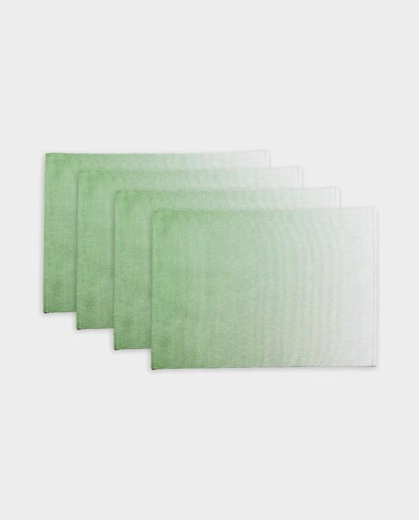 Podkładki pod talerze Ombre – zielone – Present Time