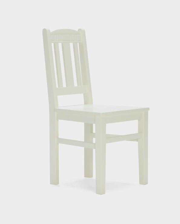 Krzesło Catana Massivum – sosna/biały