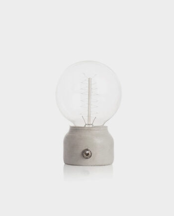 Betonowa lampka nocna - Better Mix Design Studio (14,5 cm)