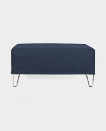 Pufa-Sofa-moduł-2UP-Niebieska