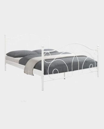 Łóżko-Clover II-160-Białe-AMORE DI CASA