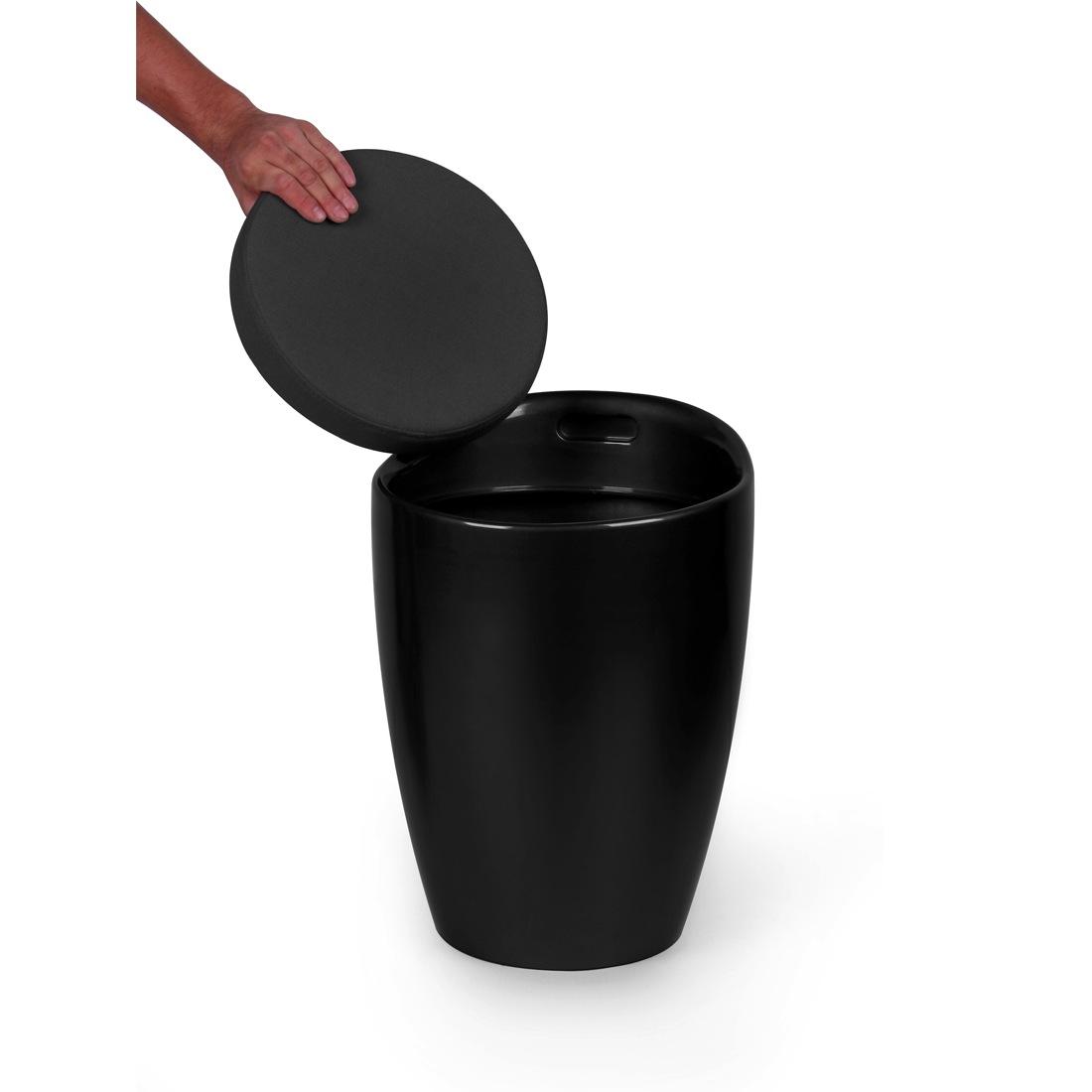 hoker harvey czarny furnitive homeware outlet. Black Bedroom Furniture Sets. Home Design Ideas