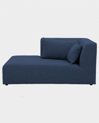 Sofa-moduł-Szezlong-Ciemny-niebieski-Fabrik