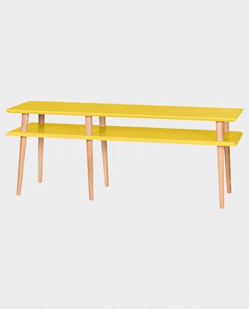 Stolik pomocniczy MUGO 139cm medium yellow – Ragaba