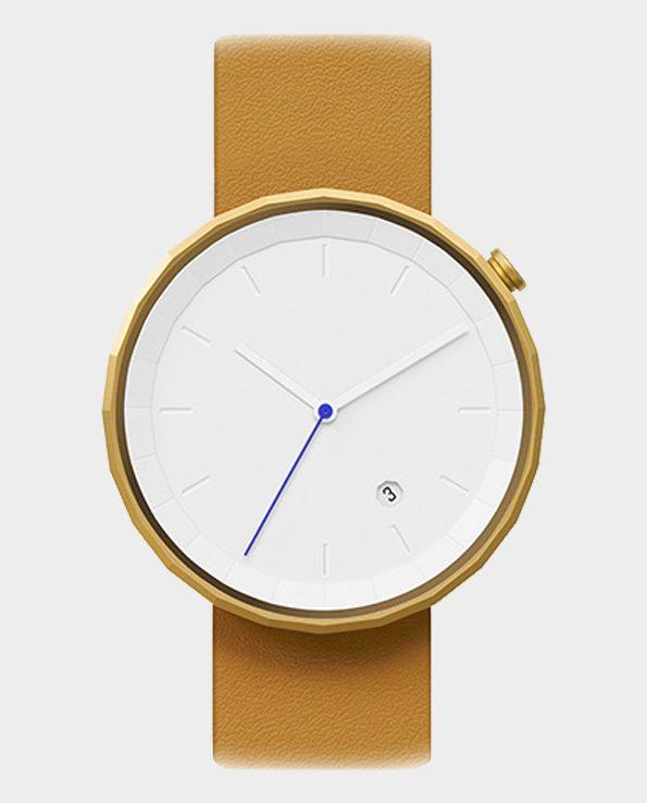 Zegarek chiandchi Polygon – brązowy/złoty
