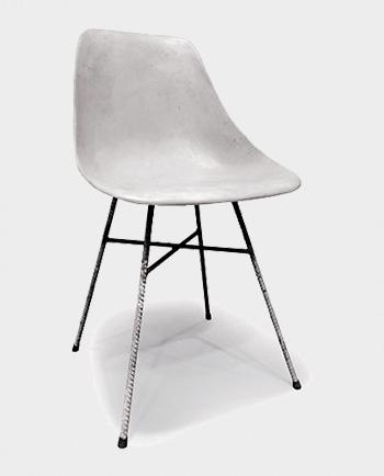 Krzesło Betonowe – Lyon Béton