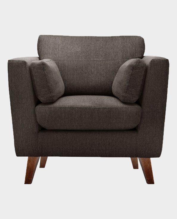 Fotel Elisa – ciemny brąz – Jalouse Maison