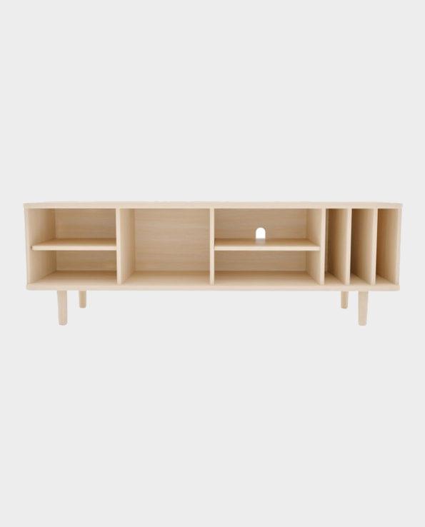 Szafka RTV Hillen – Naturalne drewno – Woodman