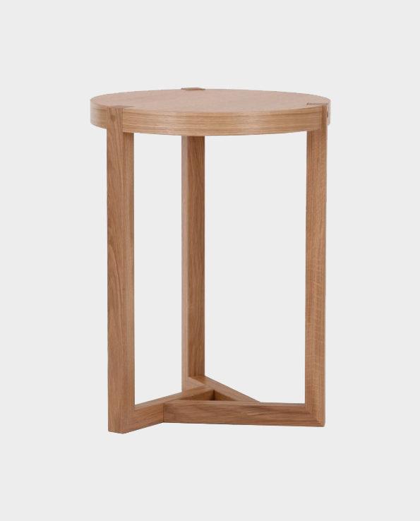 Stolik pomocniczy Brentwood – Naturalne drewno – Woodman