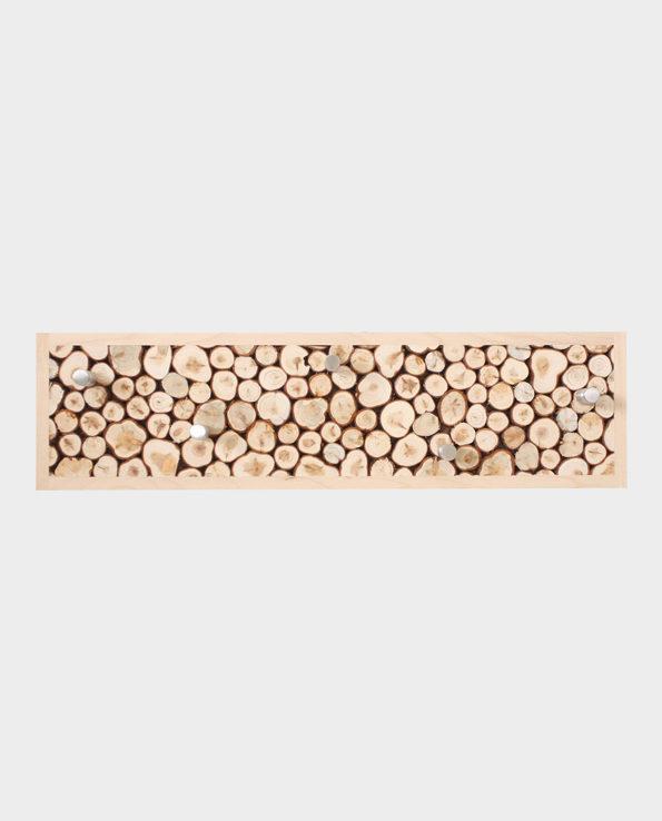 Wieszak na ubrania Juniper – Naturalne drewno – Woodman