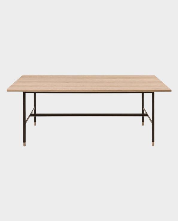 Stół Jugend – Naturalne drewno/Czarny – Woodman