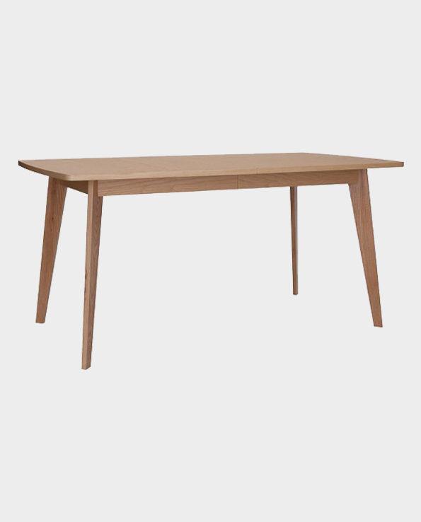 Stół jadalniany rozkładany Kensal 160-200 x 90 – Naturalne drewno – Woodman