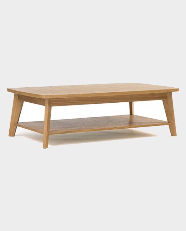 Stolik Kawowy Kensal – Naturalne drewno – Woodman