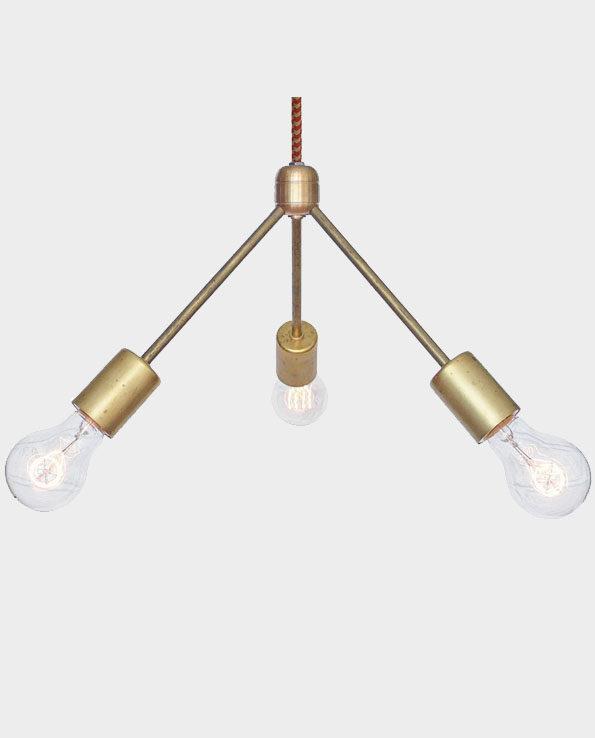 """Lampa wisząca """"Berks"""" – Czerwony – Manhattan Project Design Shop"""