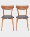 Krzesła Ami - komplet 2 szt