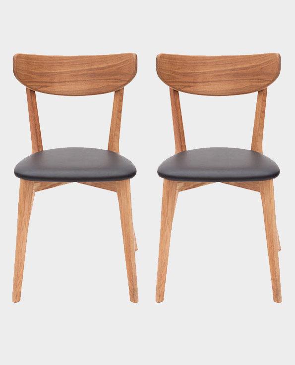 Krzesła Ami – komplet 2 szt – Swedish Living