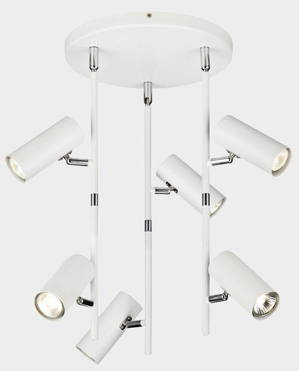 Lampa wisząca ROMA – Biały / Chrom – Markslojd